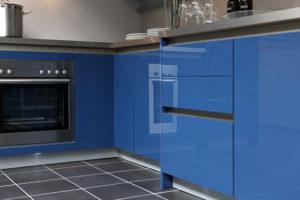 oberflächenveredelung hochglanz küche
